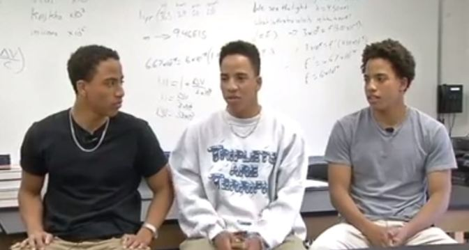 Washington D.C. Area Triplets Compete For Highest GPA, Attending Ivy League Schools This Fall